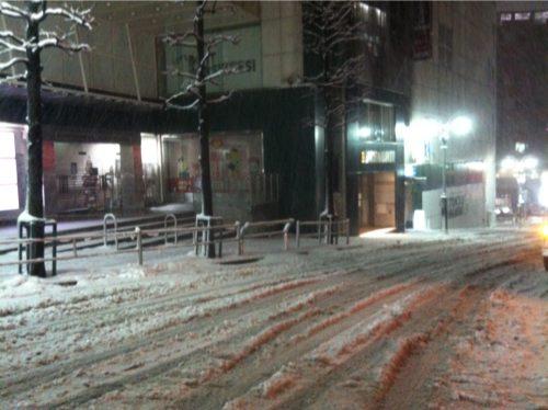 blgハンズ前雪