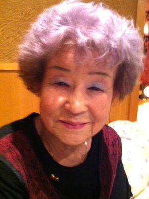 紫  おばあさん